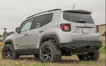 AVID RADIUS Jeep Renegade Rear Bumper with Tow Hitch and Recovery Points