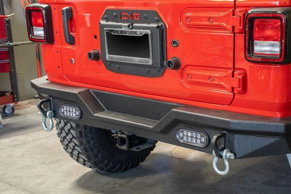 Jeep JL Spare Tire Delete Kit 18-Present Wrangler JL DV8 Offroad