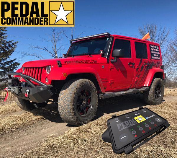 Pedal Commander 2007-2018 Jeep Wrangler JK/JKU PC31-BT