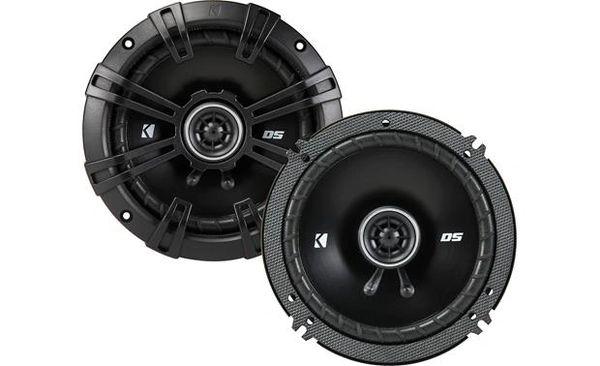 """Kicker 43DSC6504 DS Series 6-1/2"""" 2-way car speakers"""