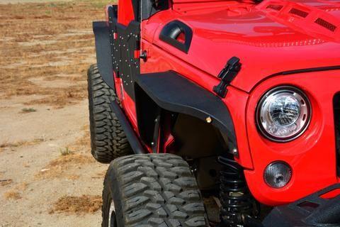 DV8 SLIM FENDERS (FENDB-06) Jeep Wrangler