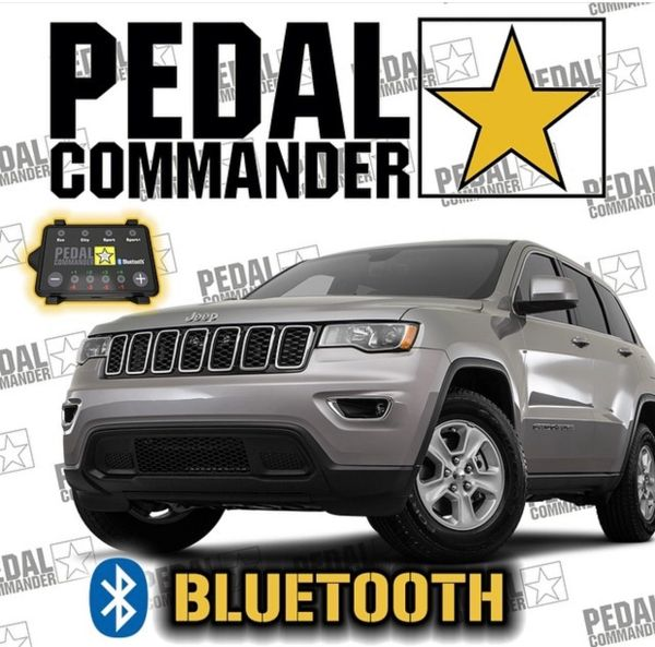 Pedal Commander 2007-2018 Jeep Grand Cherokee PC31-BT