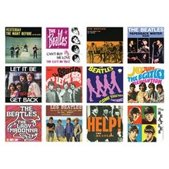 Beatles Album Covers Magnet Set