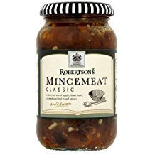 ROBERTSONS TRADITIONAL MINCEMEAT - 1LB