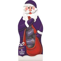 Cadbury Santa