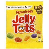 Jelly Tots - 150g large sachet.