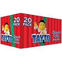 TAYTO CHEESE AND ONION CHRISTMAS BOX (20 BAGS)