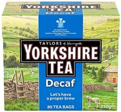 Taylor's Yorkshire Decaf 80 count bags