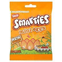 Smarties Orange Mini Eggs Bags