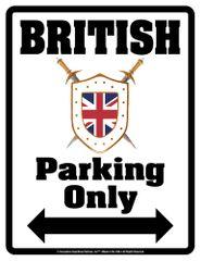 UJ Parking Sign