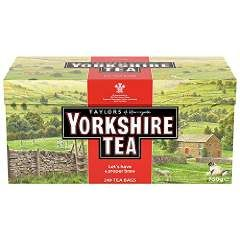 Yorkshire Red 160 count Tea bags