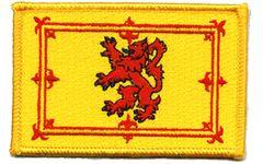 Scotland Lion Iron on Woven Decal