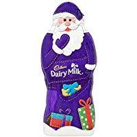 Chocolate Santa from Cadbury