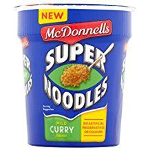 McDonnells Mild Curry Noodles