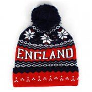 England Ski Hat with pom pom