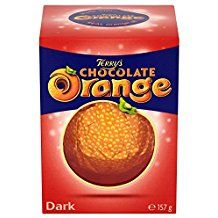 Terrys Dark Chocolate orange (Christmas item)