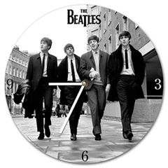 Beatles color Wall Clock