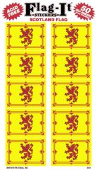Scotland Lion Mini Stickers (50)