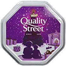 Quality St White Christmas Tin - 1.2kg