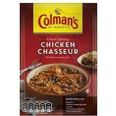 Colmans Chicken Chasseur