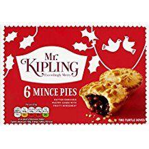 MR KIPLING MINCE PIES (6) - only available at Christmas