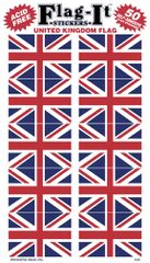 Union Jack Mini Stickers (50)