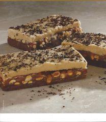 Peanuttiest Caramel Chocolate Fudge