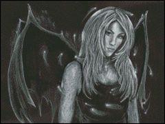 Gothic Beauty Angel 2