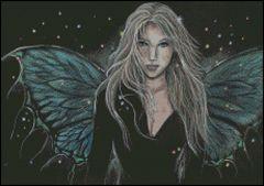Gothic Fairy Cross Stitch Patterns