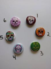 Sugar Skull Needle Minders and many more