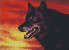 Red Skies Wolf