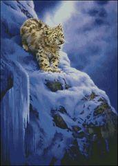 Snowy Cliff