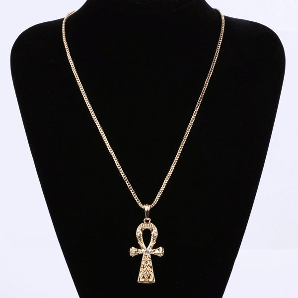 Egyptian ankh pendant necklace long 22 chain hair asia egyptian ankh pendant necklace long 22 chain aloadofball Images