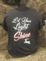 """Let Your Light Shine"" Ladies T-shirt"