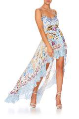 Dress Hire - Camilla High-Low 'Girl Next Door' Print