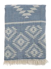 Kilim Turkish Towel - Indigo