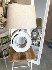 Driftwood Circle Lamp