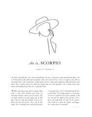Zodiac Print- Scorpio