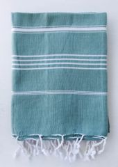 Turkish Beach Towel- Basic Sage