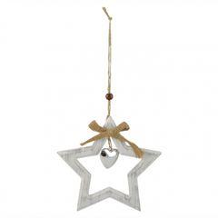 White Star w/Jute Hanging