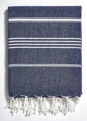 Turkish Beach Towel- Basic Navy