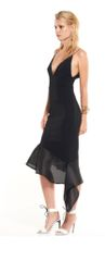 Dress Hire: Talulah Renegade Midi Black