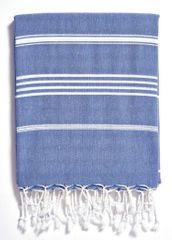 Turkish Beach Towel- Basic Indigo