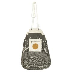 Play Pouch Tribal Charcoal