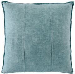 Luca Linen Cushion - Sea Mist