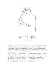 Zodiac Signs- Taurus