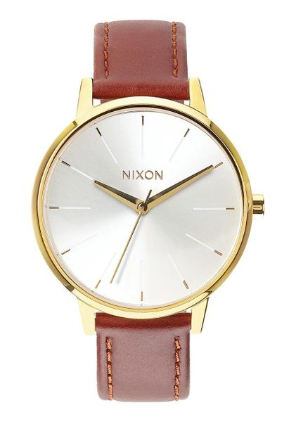 Nixon Kensington Leather 'Gold / Saddle'