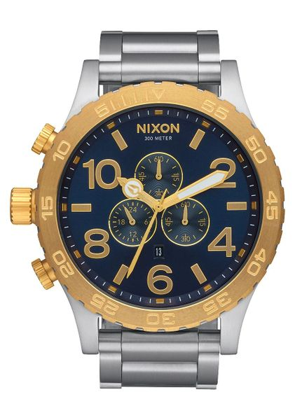 Nixon 51-30 Chrono 'Gold / Blue Sunray'