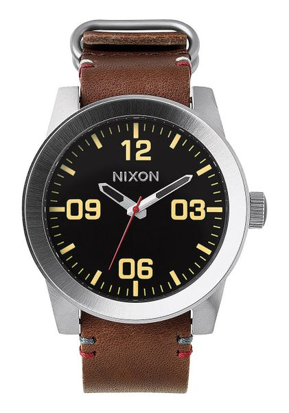 Nixon Corporal 'Black / Brown'