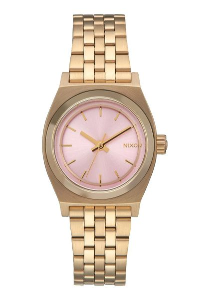 Small Time Teller Light Gold/Pink